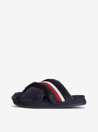 Tmavě modré pantofle Tommy Hilfiger