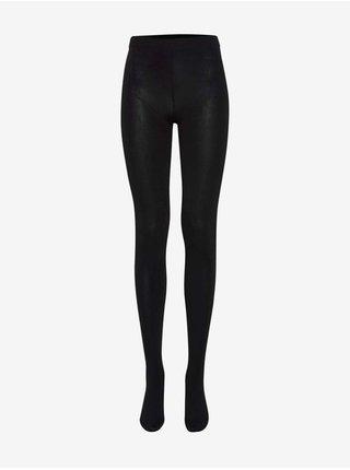 Čierne dámske pančuchové nohavice ICHI