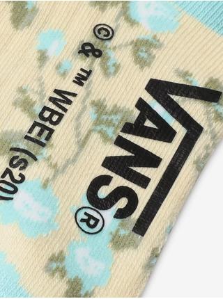 Modro-žluté dámské vzorované ponožky VANS The Shining