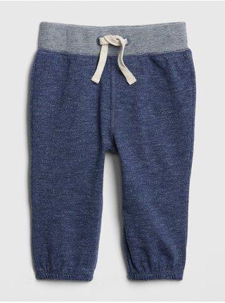 Modré klučičí kalhoty marled pants GAP