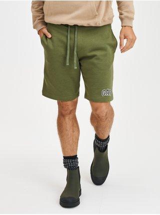 Zelené pánské kraťasy Teplákové, 2ks GAP