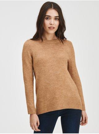 Béžový dámský svetr Pletený tunic GAP