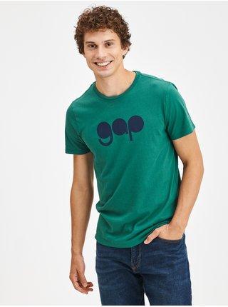 Zelené pánské tričko s logem GAP