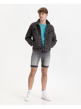 Tričká s krátkym rukávom pre mužov Replay - modrá