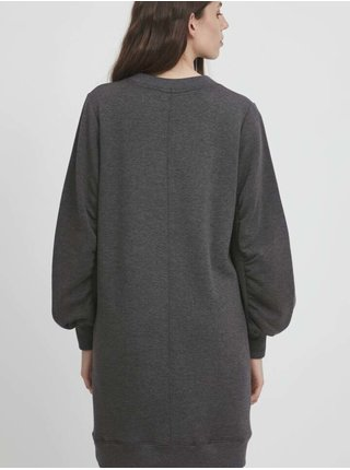 Šaty na denné nosenie pre ženy ICHI - sivá