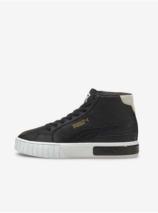 Černé kotníkové dámské boty Puma Cali Star Mid Wn s