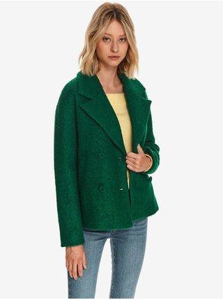 Zelené dámské vlněné sako TOP SECRET