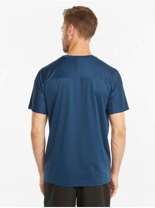 Tmavomodré pánske tričko Puma Train First Mile Tee