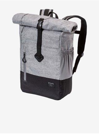 Černo-šedý pánský batoh Meatfly Holler