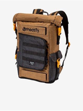 Černo-hnědý pánský batoh Meatfly Periscope