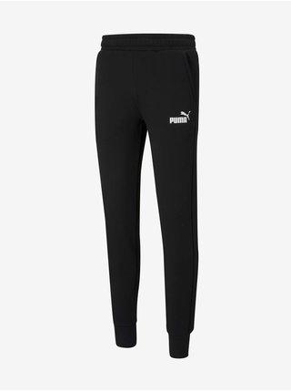 Čierne pánske tepláky Puma Ess Slim Pants FL