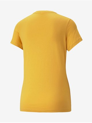 Žlté dámske tričko Puma Ess Logo Tee