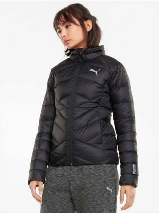 Čierna dámska prešívaná bunda Puma PWRWarm packLITE 600 Down Jacket