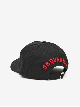Černá pánská kšiltovka s nápisem DSQUARED2