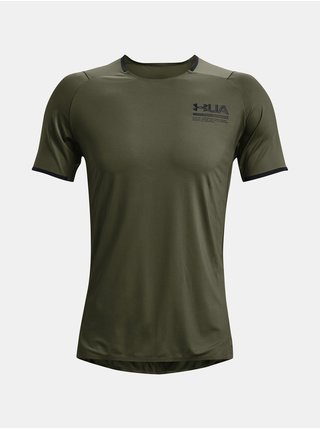 Tričko Under Armour HG IsoChill Perforated SS-GRN
