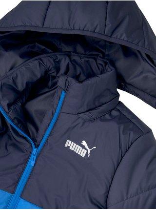 Modrá klučičí prošívaná bunda Puma Cb Padded Jacket B