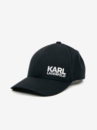 Čierna pánska šiltovka KARL LAGERFELD