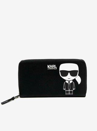 Bielo-čierna peňaženka KARL LAGERFELD