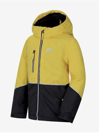 Žltá chlapčenská športovní bunda Hannah