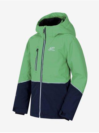Zelená klučičí sportovní bunda Hannah