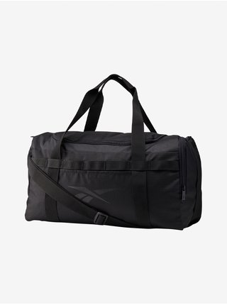 Čierna pánska športová taška cez rameno Reebok UBF GRIP M