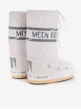 Bílé dámské sněhule Moon Boot Icon Nylon