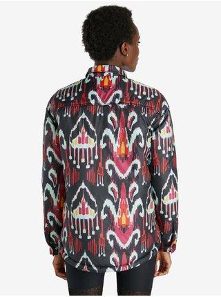 Čierna dámska vzorovaná bunda Desigual Eliot