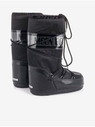Čierne dámske snehule Moon Boot Icon Glance