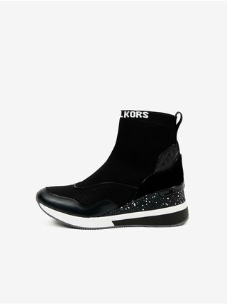 Bílo-černé dámské kotníkové boty Michael Kors Swift Bootie