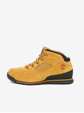 Světle hnědé pánské kotníkové kožené boty Timberland Euro Rock Heritage L/F Basic