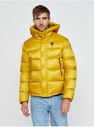Zimné bundy pre mužov Blauer - žltá