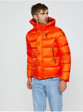 Zimné bundy pre mužov Blauer - červená