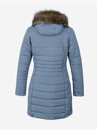 Šedý dámský prošívaný kabát Hannah