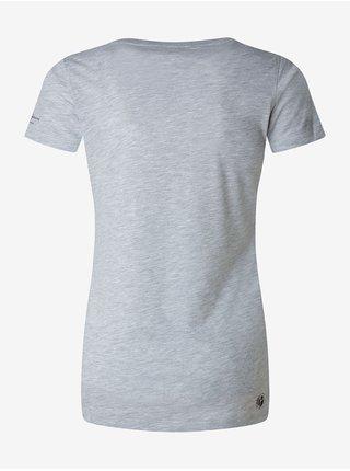 Světle šedé dámské tričko Pepe Jeans Pam