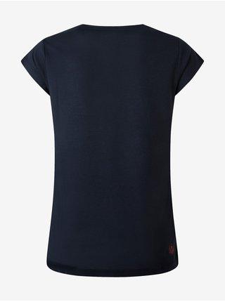 Tmavě modré dámské tričko s flitry Pepe Jeans Berenice