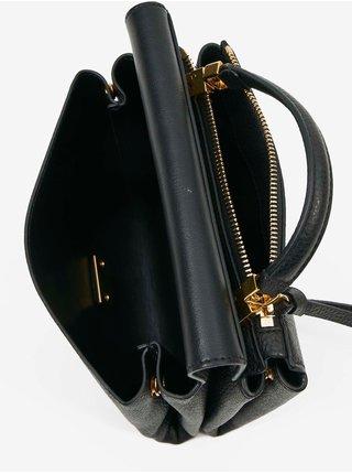 Černá kožená crossbody kabelka Coccinelle Arlettis