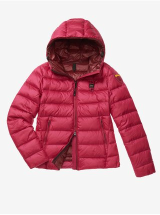 Zimné bundy pre ženy Blauer - tmavoružová, červená