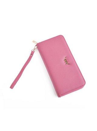 VUCH Dámská růžová peněženka ze syntetické kůže Zippy Collection - DOLLY DELL