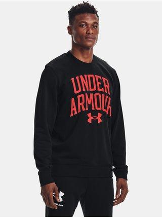 Mikina Under Armour UA RIVAL TERRY CREW - černá