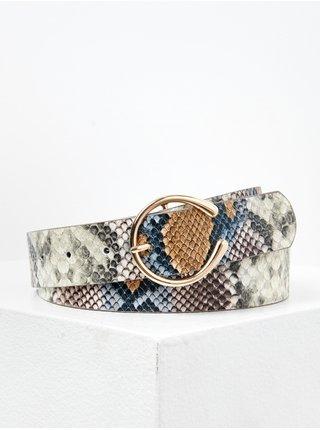 Šedý opasok s hadím vzorom CAMAIEU
