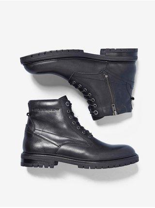 Členkové pre mužov Pepe Jeans - čierna