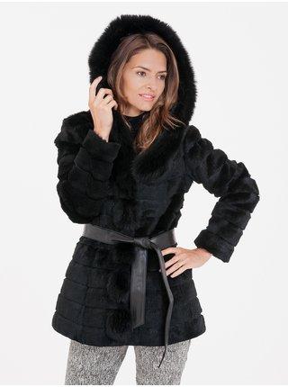 Kabáty pre ženy KARA - čierna
