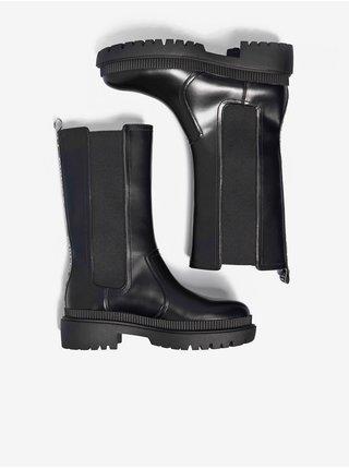 Čižmy pre ženy Pepe Jeans - čierna