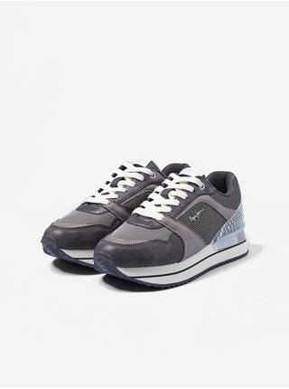 Tenisky pre ženy Pepe Jeans - sivá
