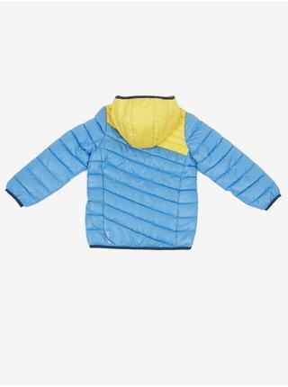 Žlto-modrá detská zimná bunda LOAP Ingofi