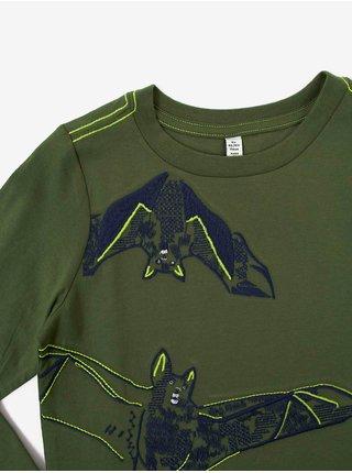 Zelené klučičí tričko s potiskem Tom Joule