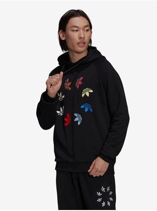 Černá pánská mikina s kapucí adidas Originals