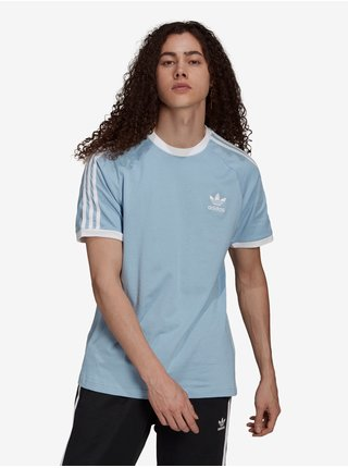 Světle modré pánské tričko adidas Originals