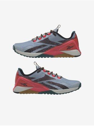 Červeno-šedé pánské boty Reebok Nano X1 TR Adventur