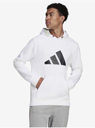Bílá pánská mikina s kapucí adidas Performance M FI WTR Hoodie